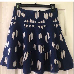 J.O.A Knit Sweater Mini Skirt